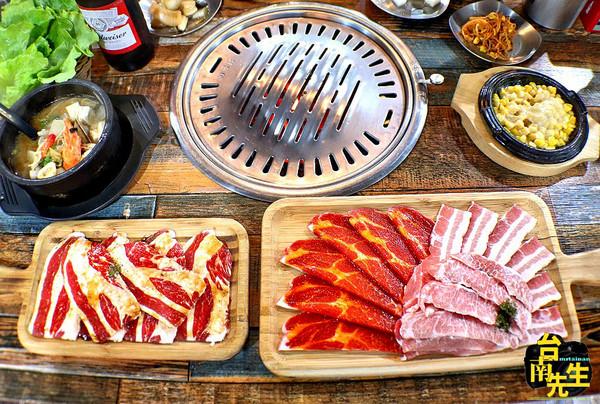 爽嗑香嫩牛五花!台南韓式烤肉 海鮮煎餅滿滿小卷+鮮蝦太銷魂 | ETto