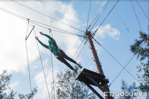 60項高低空設施在桃園!新增「蜈蚣之柱、插木柱」挑戰心臟強度