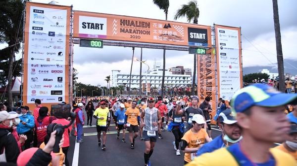 2020花蓮太平洋縱谷馬拉松人數創新高 選手大讚最美賽道! | ETto