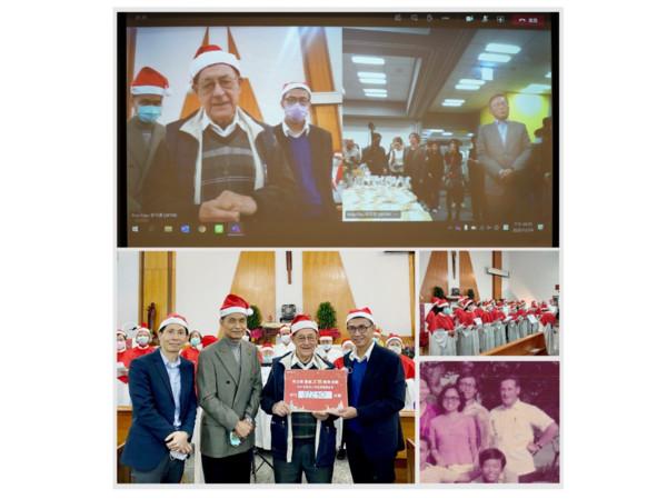 貝立德耶誕送暖博愛基金會 比利時神父代表受贈 | ETtoday公益新聞