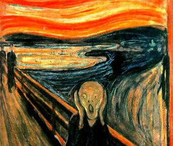 孟克《吶喊》裡隱藏的可怕災難…