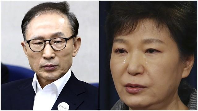 ▲▼南韓前總統李明博、朴槿惠可望獲得2021新年總統特赦機會。(圖/達志影像/美聯社、CFP)
