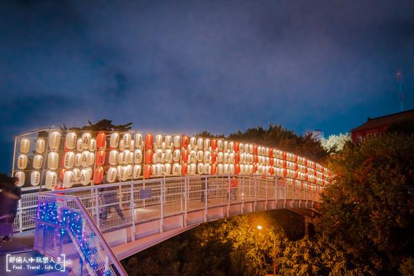 走上燈籠橋秒到日本!彰化超夢幻月影燈季 還有阿拉伯宮殿+神燈 | ETt