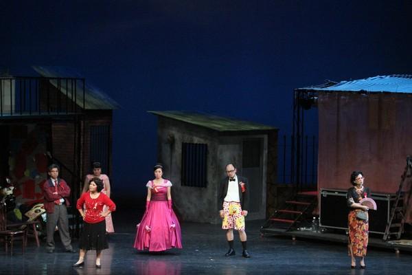 ▲▼《結婚!結昏?辦桌》音樂劇,2010年劇照。(圖/綠光劇團提供)