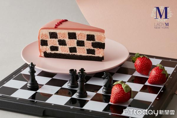 草莓季來了!Lady M推全新「棋格蛋糕」 4款超夯草莓甜點同步回歸  
