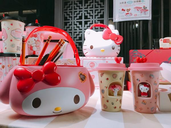 ▲85度C,Hello Kitty,My Melody。(圖/記者蔡惠如攝、85度C提供)