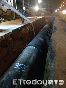 台水追查新北自來水泛黃:缺水調度供水、管線雜質可能性大
