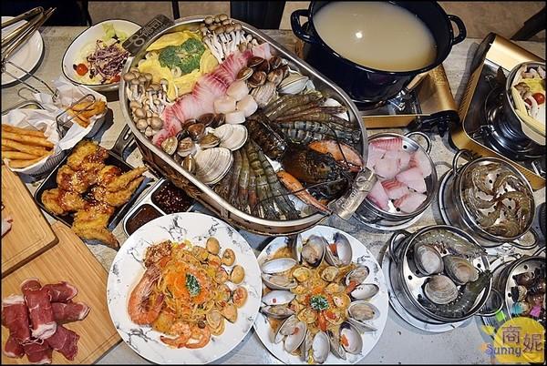 最猛雞湯無限暢飲!台中人氣打卡餐館 船鍋霸氣載滿鮮美海產