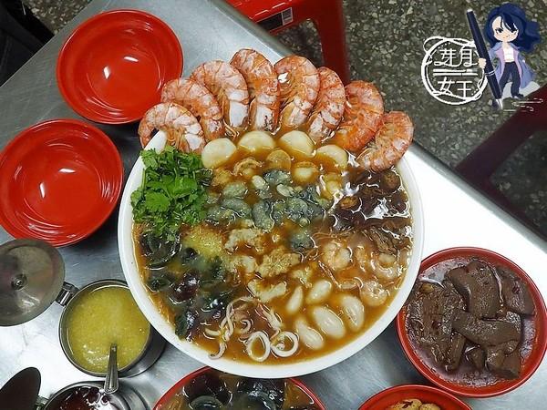 爆塞8隻天使紅蝦!桃園痛風系豪華麵線 提前2天預訂才吃得到 | ETto