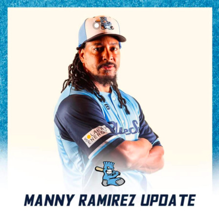 ▲曼尼(Manny Ramirez)。(圖/Sydney Blue Sox粉專)