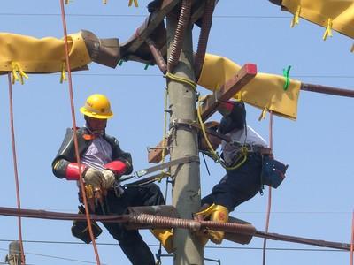 和平東路762戶停電 台電:搶修當中