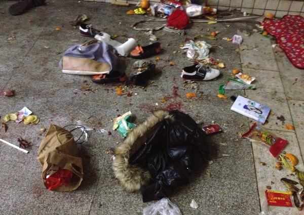 快訊/昆明火車站大屠殺 至少27死亡109傷
