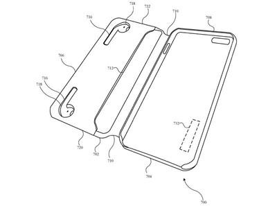 新專利曝光 蘋果研究可幫AirPods充電手機殼