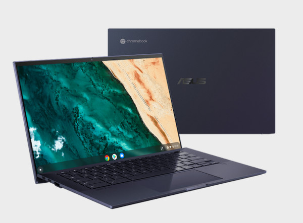▲ASUS BR1100   ASUS Chromebook CX9 ASUS ZenBook Duo 14。(圖/華碩提供)