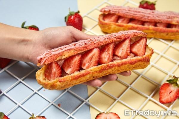太罪惡!PAUL「草莓季」重磅回歸 必吃人氣閃電泡芙夾滿滿草莓 | ET