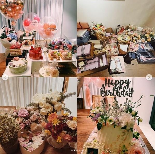[新聞] 孫藝真歡慶39歲生日 超狂禮物現場