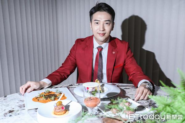 ▲地產帥哥王誌霆專訪,分享餐廳CROM。(圖/記者林敬旻攝)
