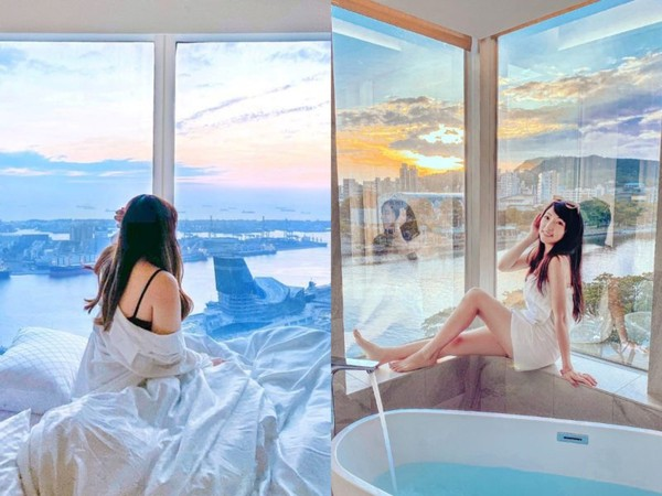 超仙河畔環景+純白浴缸!特搜高雄景觀住宿 高空酒吧約會太浪漫