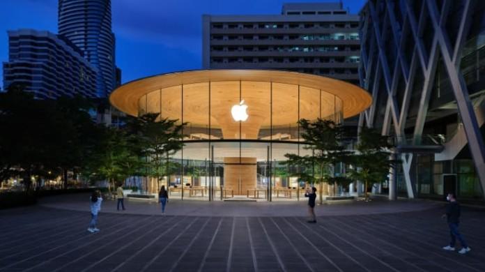 ▲▼蘋果直營店。(圖/翻攝自CNBC)