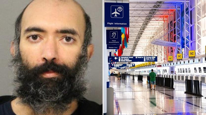 ▲▼男子害怕新冠肺炎,在機場住了三個月(圖/取自免費圖庫pexels、Chicago Police Department)