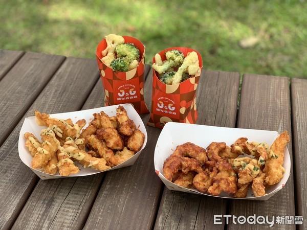 韓式甘醬、蒜香起司一次吃!繼光香香雞全新罪惡「半半炸雞」來了 | ETt