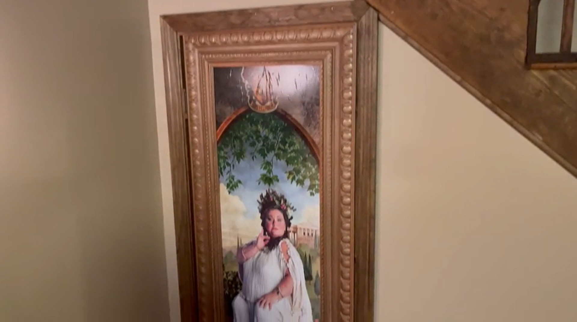 ▲▼爸爸做了一個哈利波特房間給女兒。(圖/翻攝自reddit/@Agillis87)
