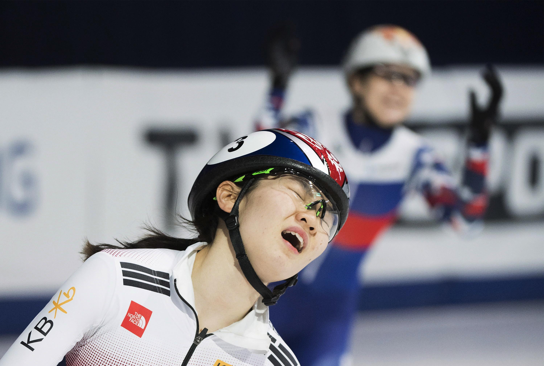 ▲▼沈錫希是南韓國內知名女子短道競速滑冰選手。(圖/達志影像/美聯社)