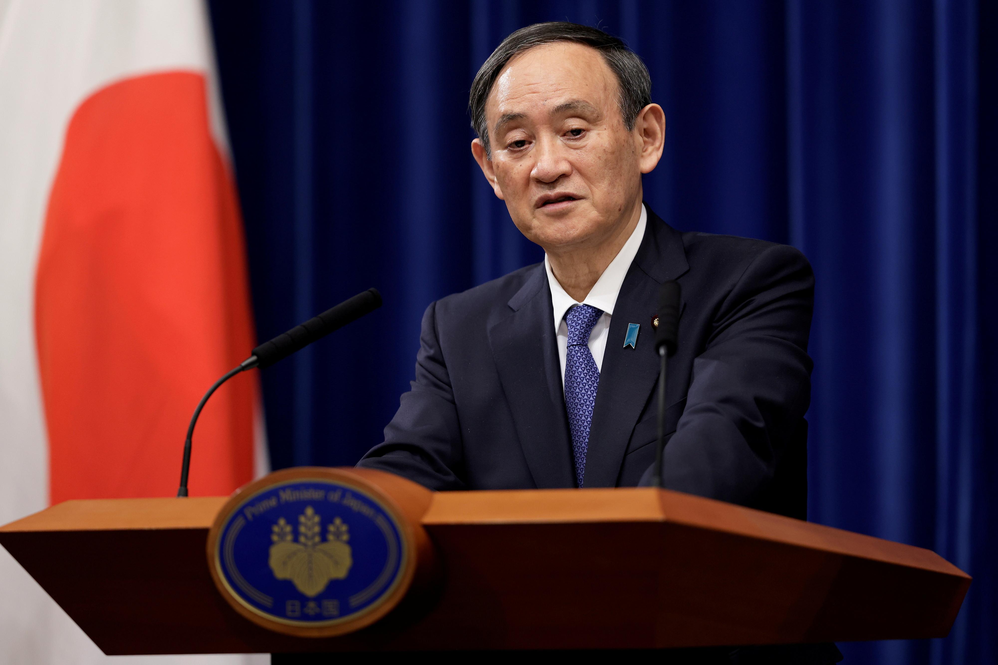 ▲▼日本首相菅義偉由衷祝賀拜登就職美國總統。(圖/路透社)