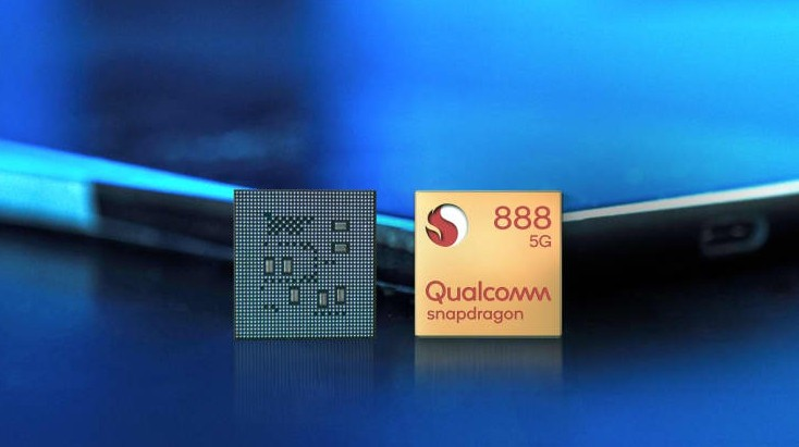 ▲▼高通Snapdragon 888晶片。(圖/翻攝自CNBC)