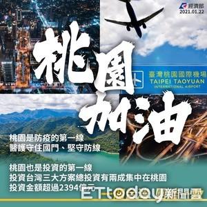 經部「挺桃」喊防疫同心 投資台灣三方案2394億在桃「佔比二成」