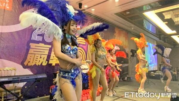 ▲▼東森全球新連鎖精鷹系統舉辦春酒午宴。(圖/記者李忠憲攝)