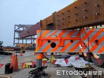 台積電3奈米廠鋼樑墜落工程一度停擺 台積電:不影響施工進度