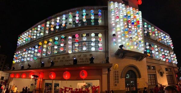 台南新夜景!千顆燈籠高掛台灣唯一消防博物館 順遊林百貨、美術館   ET