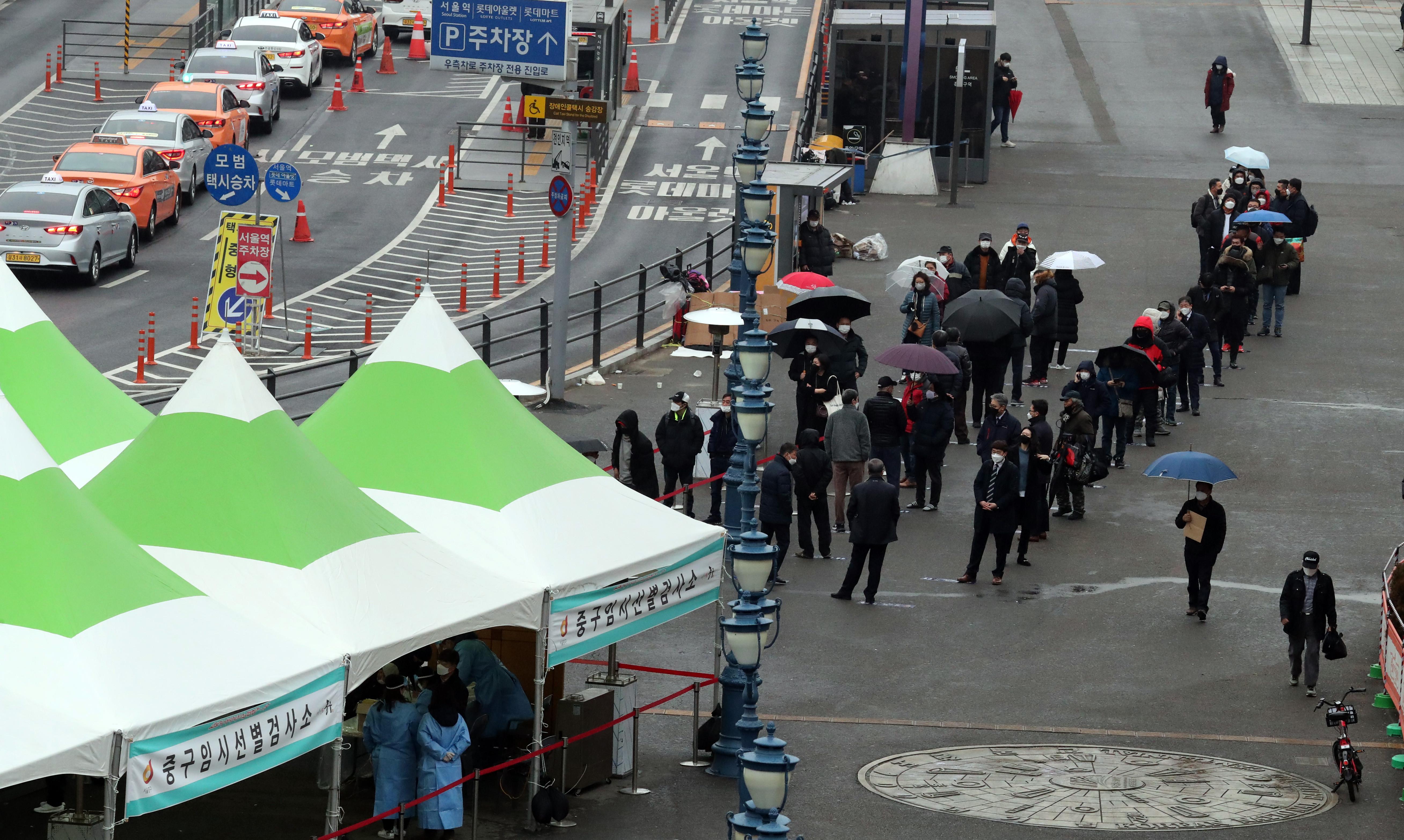 ▲▼南韓首都圈疫情漸緩,大田卻出現新一波大規模群聚感染。(圖/達志影像)
