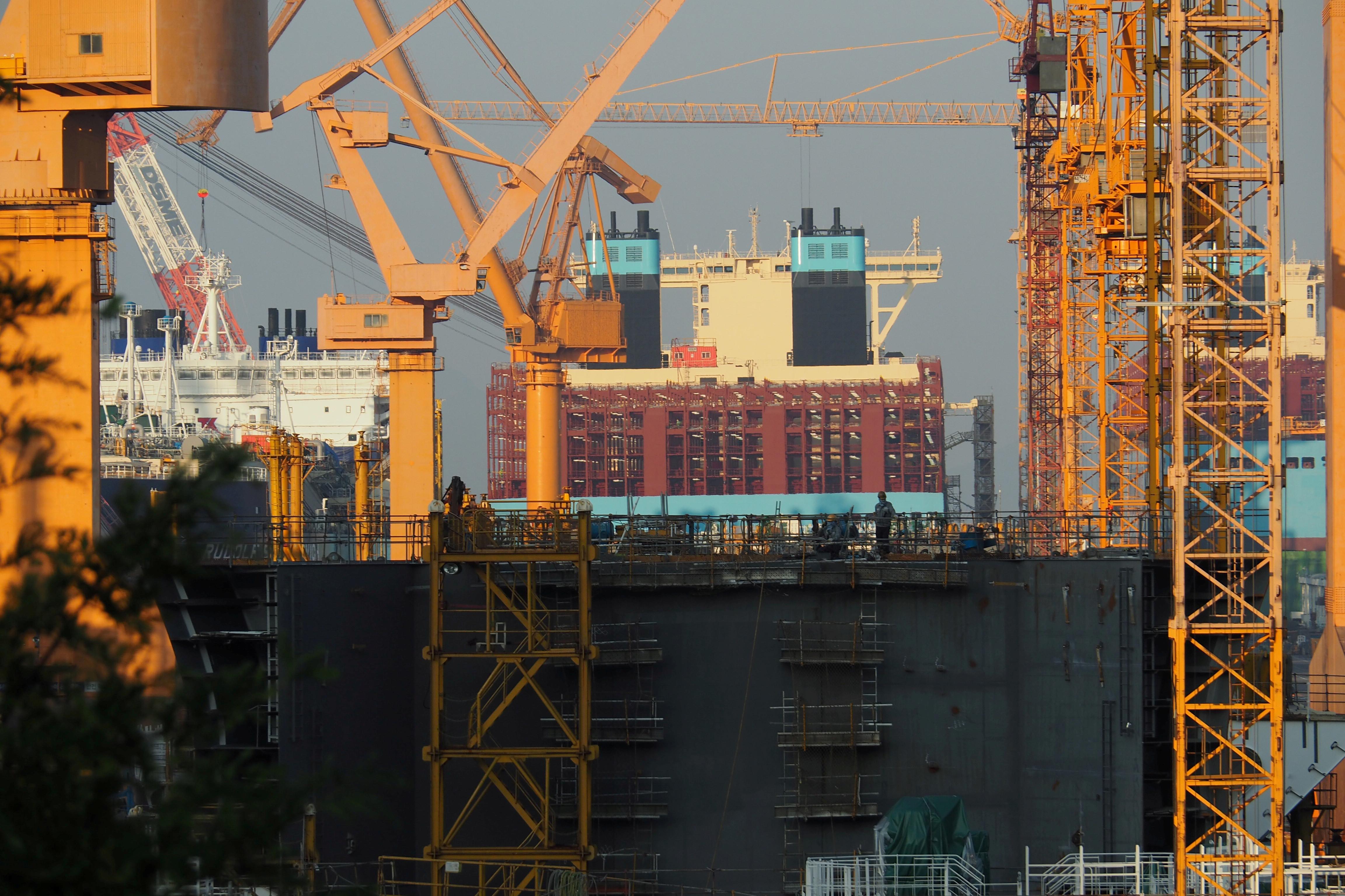 ▲▼南韓去年經濟成長率為-1%,受疫情影響,時隔22年再呈負成長。(圖/路透社)