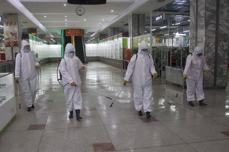 ▲▼北韓試圖透過駭取技術來研發新冠疫苗,正著手進行人體臨床實驗。(圖/達志影像/美聯社)