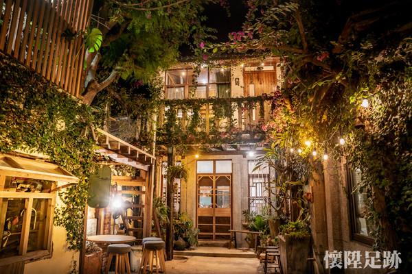 百年老屋+綠意環繞!台南霍爾移動城堡 享受與世隔絕慢活時光