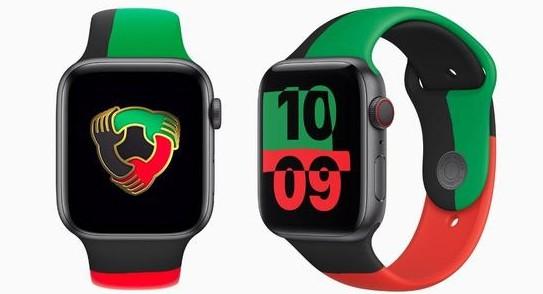 ▲黑人歷史月Apple Watch。(圖/取自新浪)