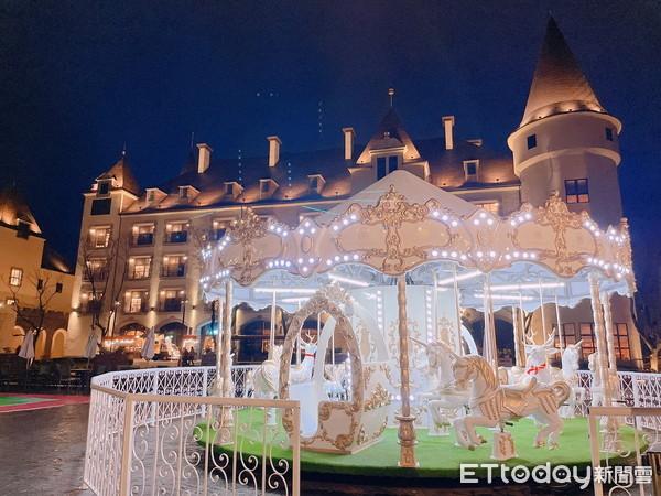花蓮「台版迪士尼城堡」白色旋轉木馬超好拍 送台北飯店免費住1晚 | ET