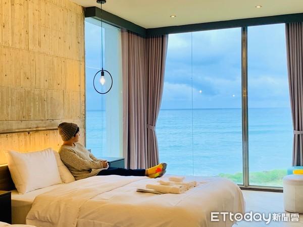 台東長濱新開「百萬海景民宿」 玻璃鞦韆270度看海、獨享秘境沙灘 | E