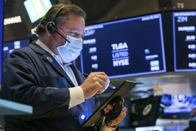 美股三大期貨上漲!道瓊期上漲逾2百點 預告美股今晚開盤走強