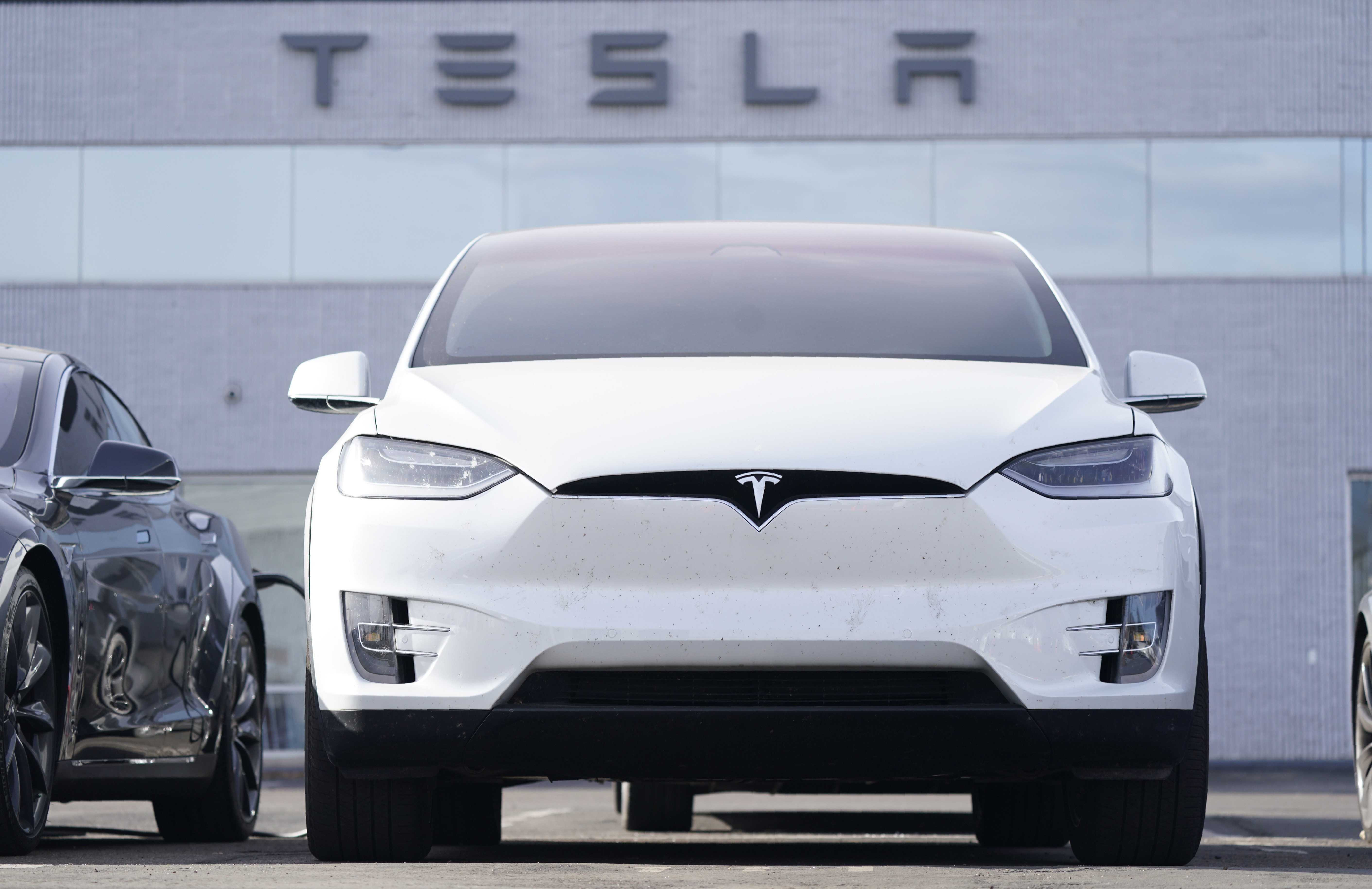 特斯拉打造70萬有找最親民電動車!Model 2最快年底廣州車展現身(圖/達志影像/美聯社)