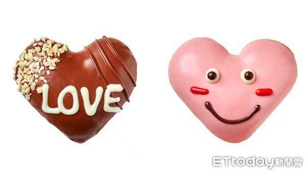 過新年也別忘了情人節!Krispy Kreme「愛心甜甜圈」只賣3天