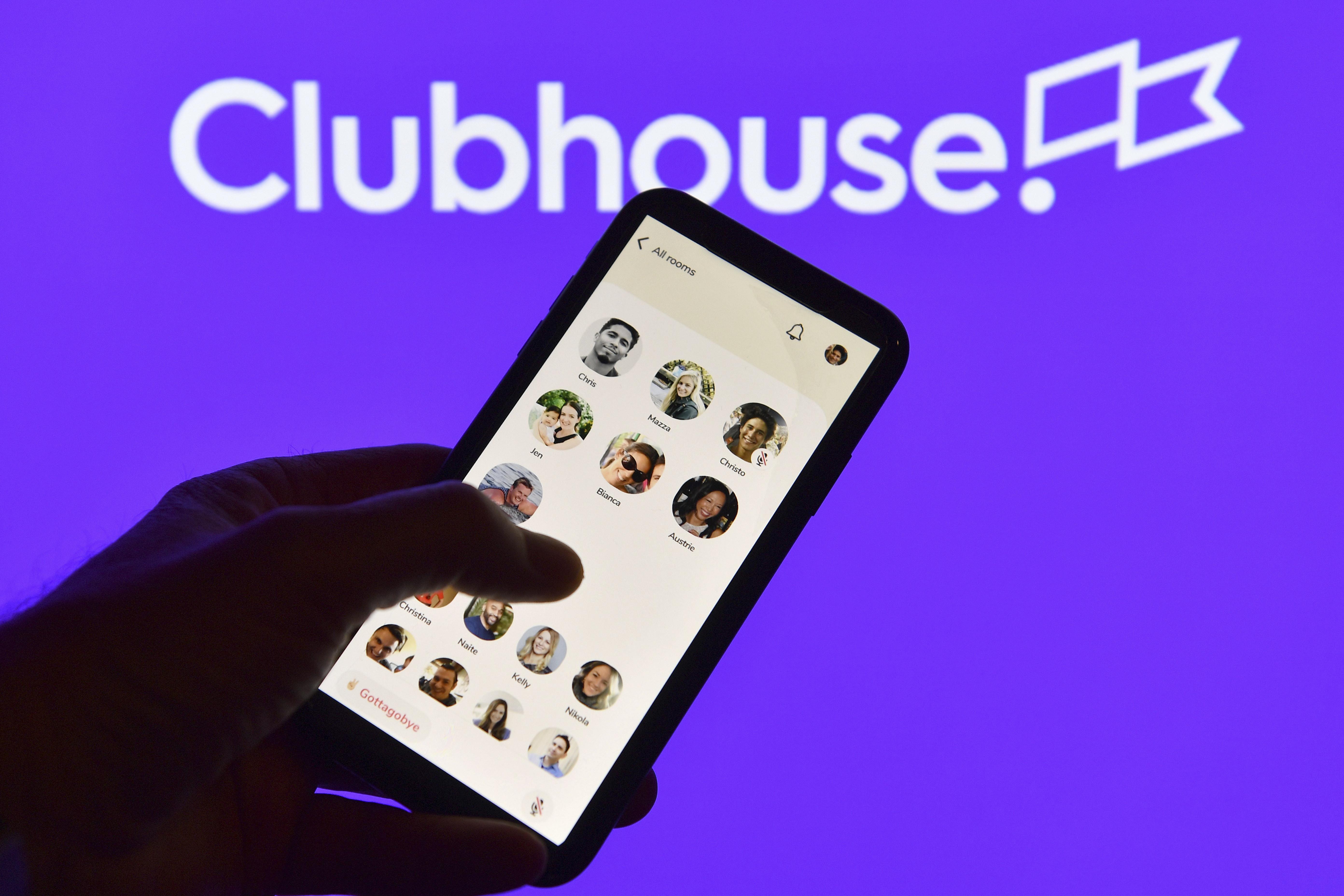 ▲▼Clubhouse。(圖/達志影像/美聯社)