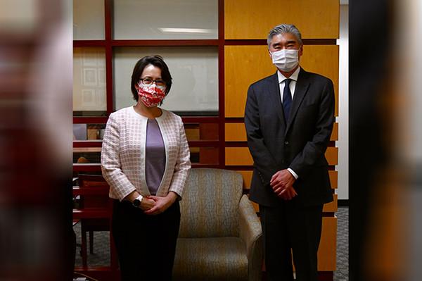 拜登上任來首次 蕭美琴進國務院會晤亞太助卿 | ETtoday國際新聞