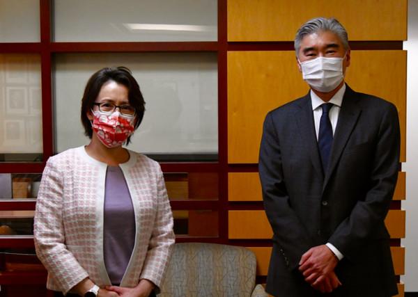 蕭美琴會亞太助卿 美國務院:致力深化與台灣關係 | ETtoday政治新