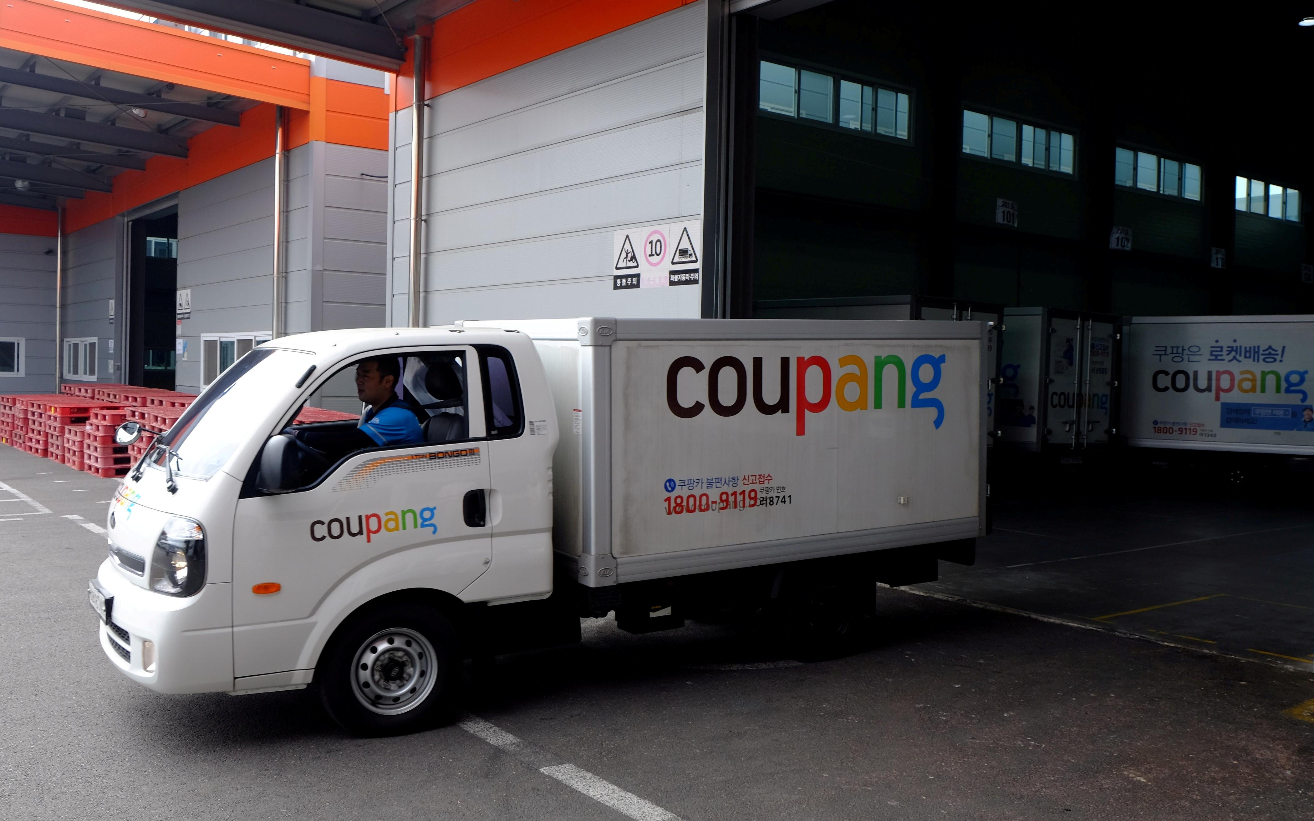 ▲▼Coupang為南韓境內最大在線零售電商。(圖/路透社)