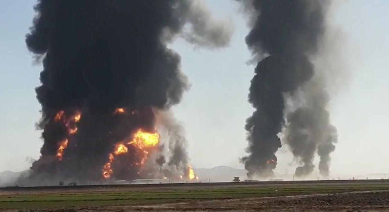 ▲▼當地工商會長透露,爆炸案至少造成5千萬美元損失。(圖/路透社)