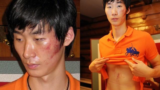 ▲▼朴哲佑2009年召開記者會,痛訴遭教練李尚烈暴力體罰。(圖/翻攝自韓網)