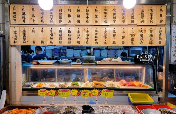 台中米其林級熱炒!金沙中卷外酥內嫩 生猛海鮮價格超親民